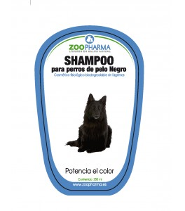 SHAMPOO PERROS NEGRO 250 ml